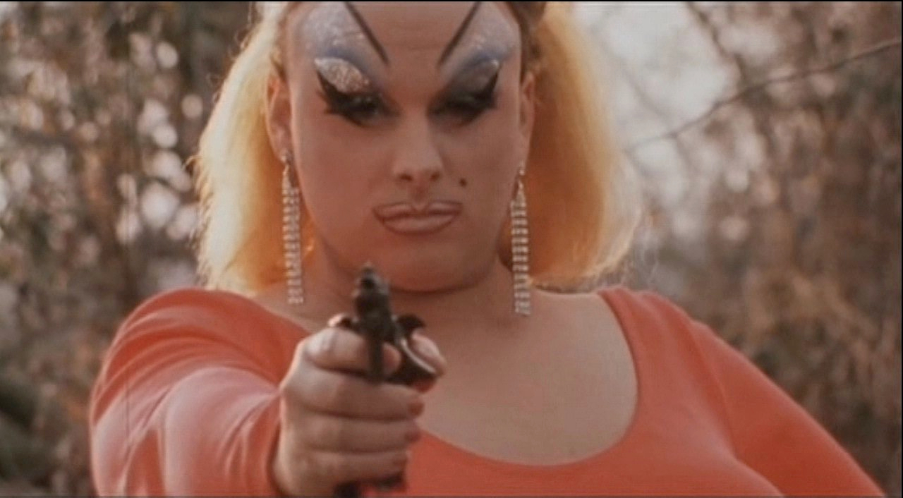 Pink Flamingos Still