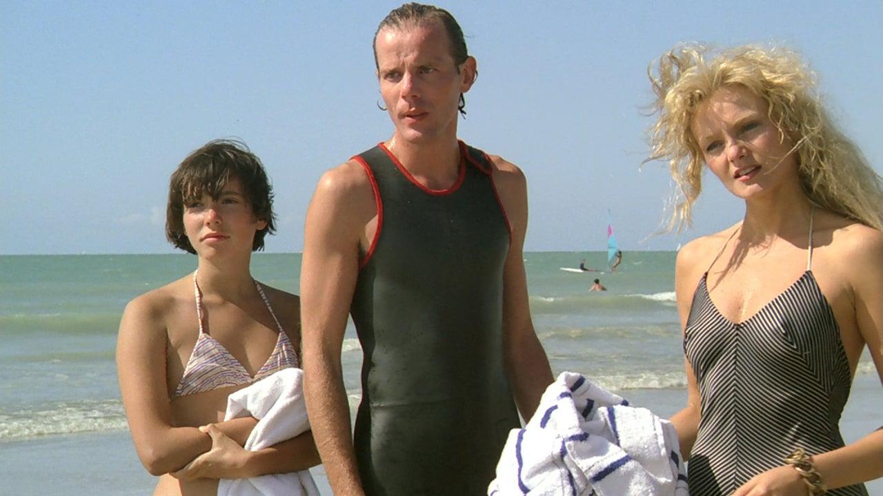 Pauline am Strand Still