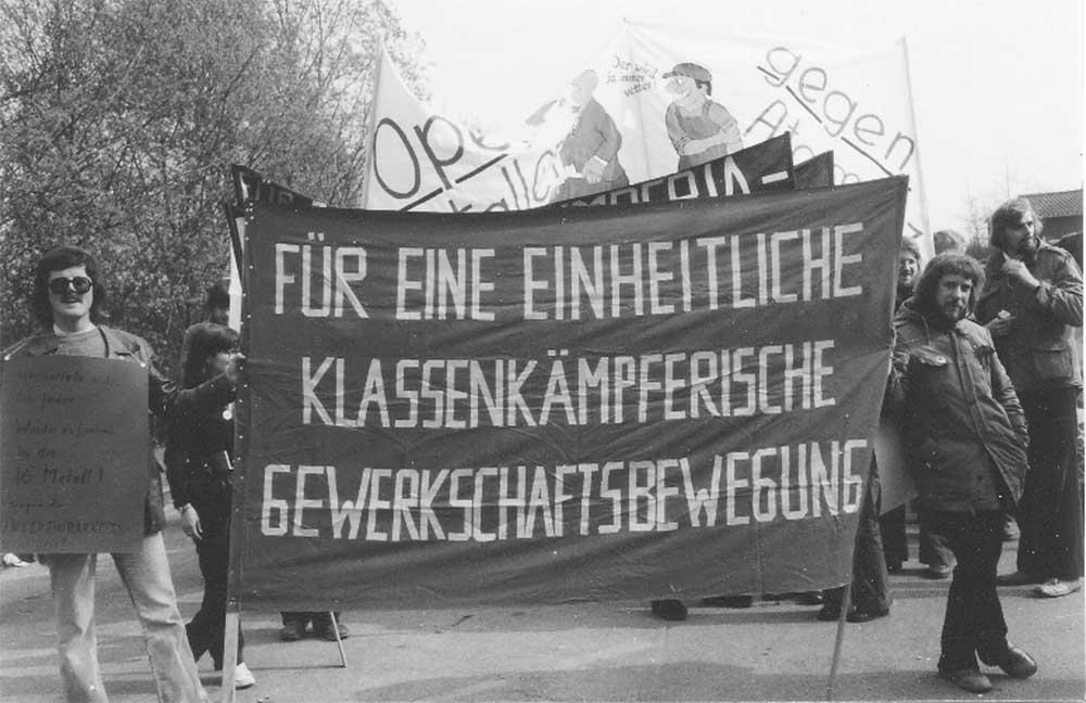 Luft zum Atmen – 40 Jahre Opposition bei Opel in Bochum Still